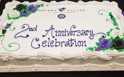 Rotary Villas Celebrates 2nd Anniversary