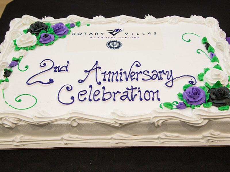 Rotary Villas Celebrates 2nd Anniversary