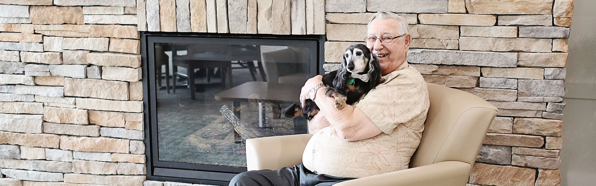Pet-friendly retirement living at Rotary Villas
