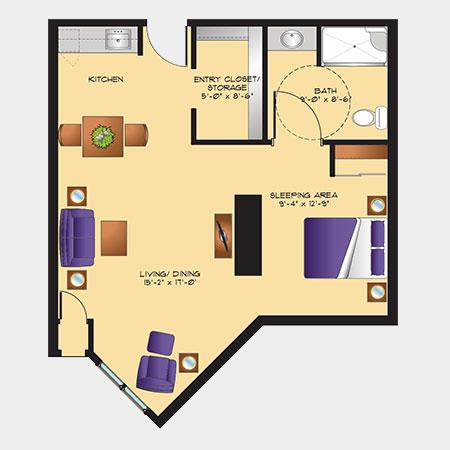 Rotary Villas Iris Suite