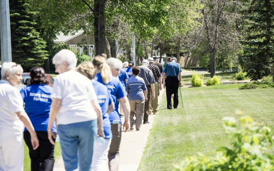 2019 Walk for Alzheimer's at Rotary Villas