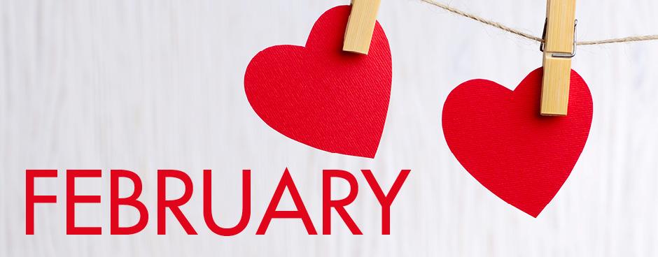 Activity Calendar with Newsletter & Menu Calendar – February 2019