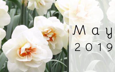 May Menu Calendar & Newsletter/Activity Calendar