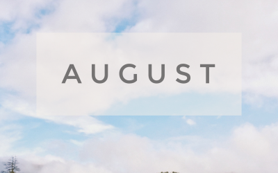 August Menu Calendar & Newsletter/Activity Calendar