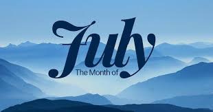 July Menu Calendar & Newsletter/Activity Calendar