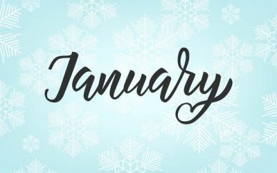 January Newsletter/Recreation Calendar & Weekly Menu Calendar