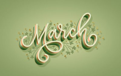 March Newsletter/Recreation Calendar & Weekly Menu Calendar