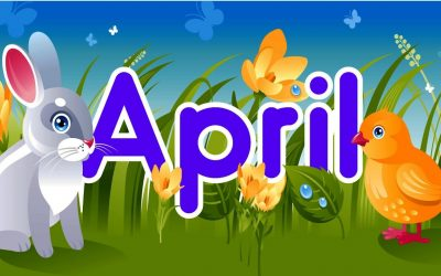 April Newsletter & Weekly Menu Calendar