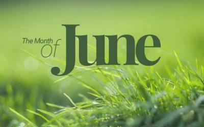 June Newsletter and Weekly Menu Calendar