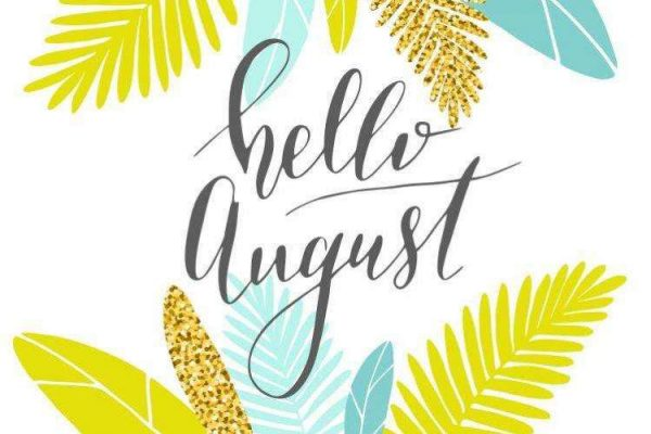 August 2020 Newsletter/Activity Calendar & Weekly Menu Calendar