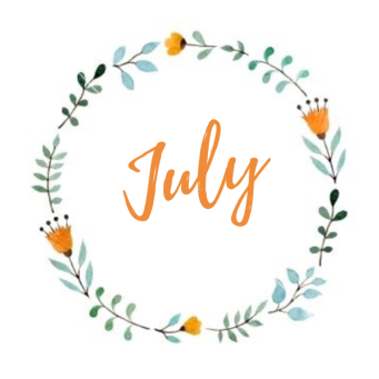 July 2020 Newsletter/Activity Calendar & Weekly Menu Calendar