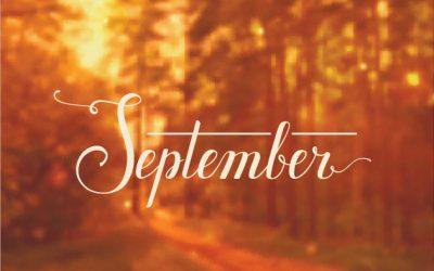September Newsletter/Activity Calendar & Weekly Menu Calendar