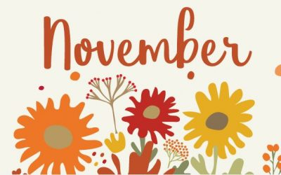 November 2020 Newsletter and Weekly Menu Calendar