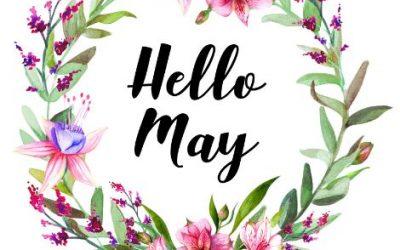 May Newsletter & Weekly Menu Calendar